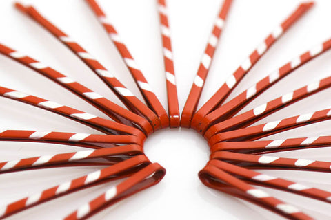 Candy Cane Bobby Pins