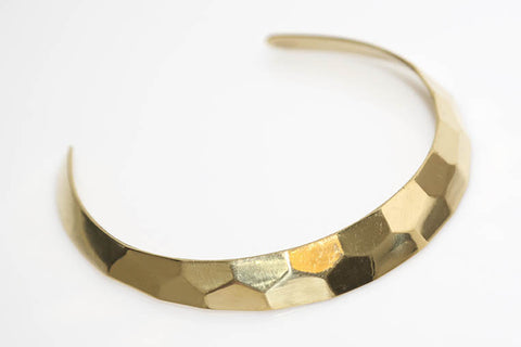 Faceted Gold Wrap