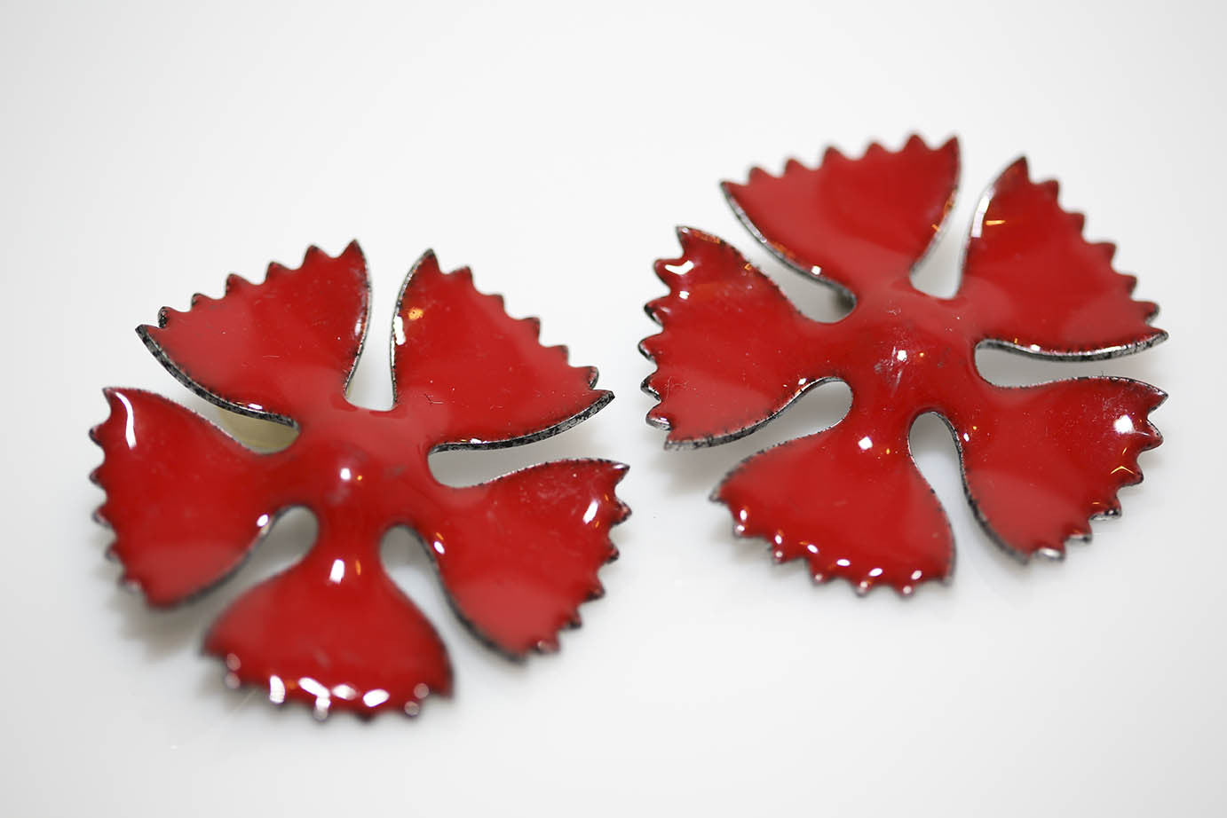 Pasta Flower Earrings