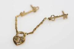 Chatelaine Heart and Key