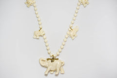 Elephant Bead Necklace