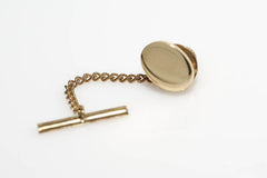 Oval Tie Tack and Lapel Pin