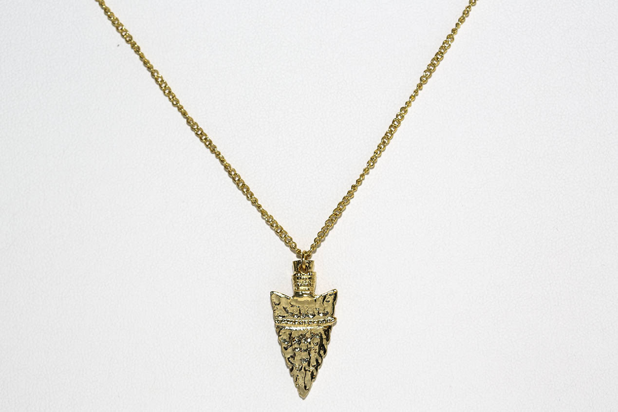 Vintage Arrowhead Necklace
