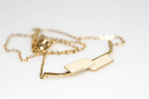 Ivory Geo Necklace