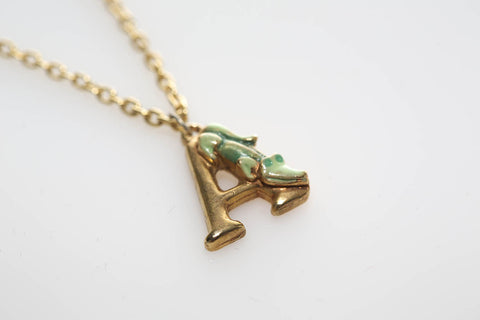 """A"" is for Alligator Necklace"