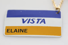 Vista Card Necklace