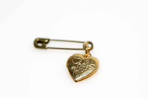 Heart Locket Pin