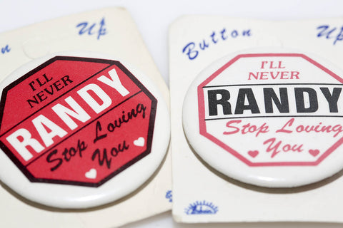 Loving Randy Pin