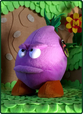 Grumpy Onion Plush