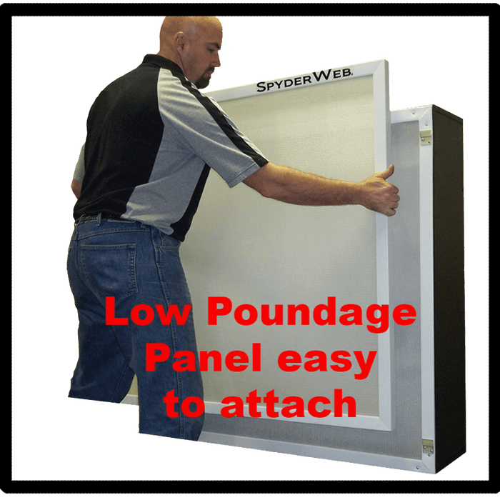 Low Poundage Panel easy to attach