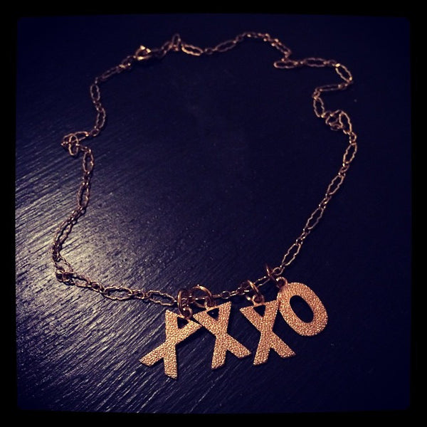 XXXO Necklace