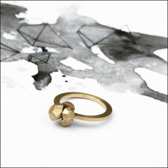 Stone by stone ring