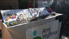 Amyjewelry booth at 2015 RISDcraft sale