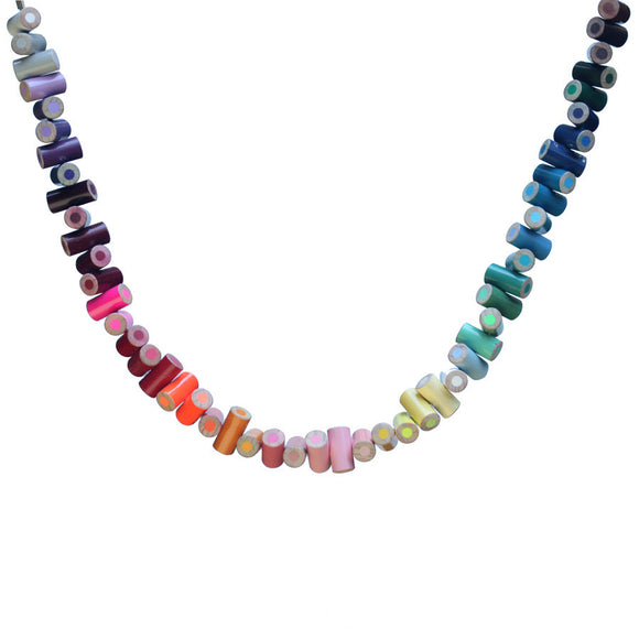 Colored pencil necklace - Amy Jewelry  - 1
