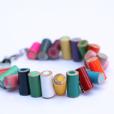 Colored pencil bracelet with extension - Amy Jewelry  - 4
