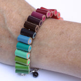 Colored pencil bracelet with extension - Amy Jewelry  - 3