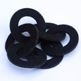 Wool felt six-ring bracelet - Amy Jewelry  - 3