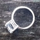 TV tube sterling ring - Amy Jewelry  - 3