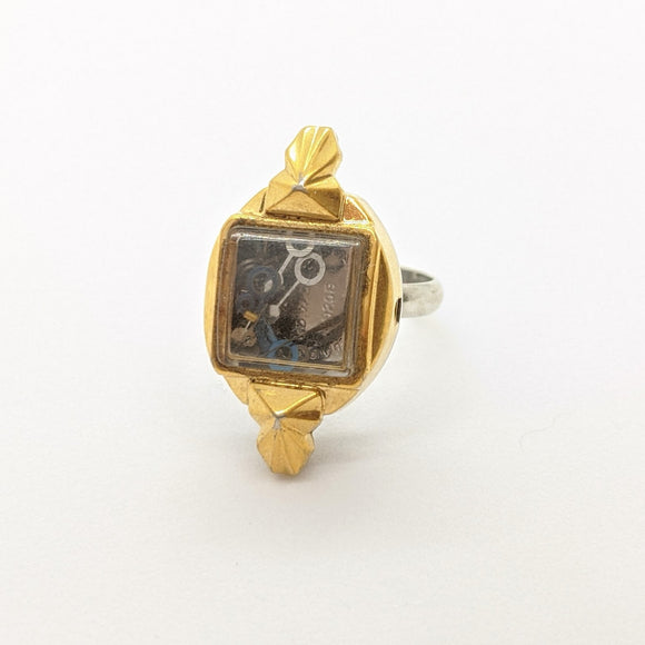 Vintage watch ring
