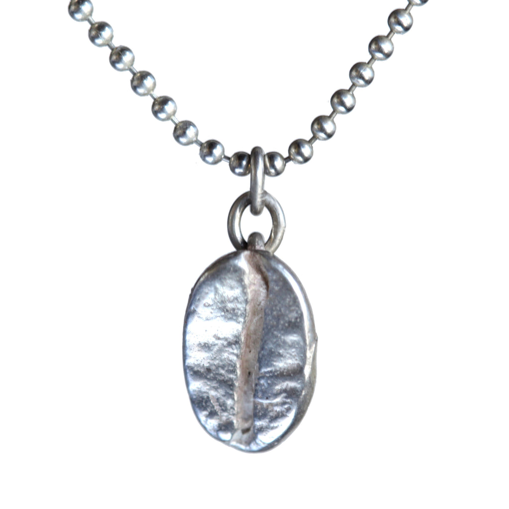 Coffee bean pendant - Amy Jewelry