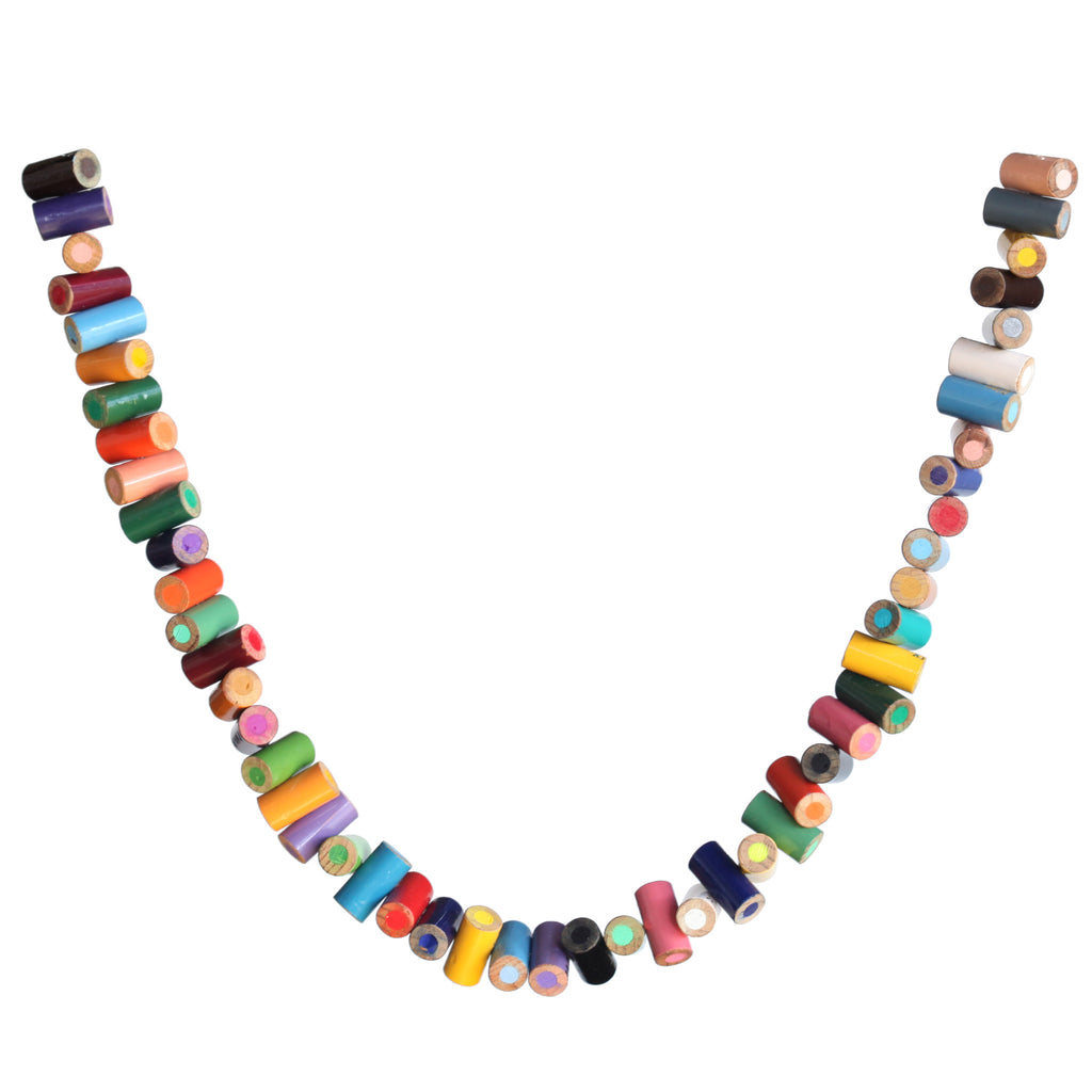 Colored pencil necklace - Amy Jewelry  - 2