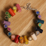 Colored pencil bracelet with extension - Amy Jewelry  - 5