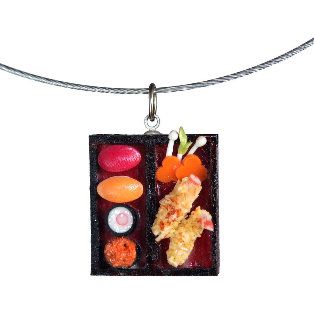 Dollhouse sushi single pendant - Amy Jewelry