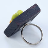 Dollhouse sushi ring - Amy Jewelry  - 2