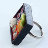 Dollhouse sushi ring - Amy Jewelry  - 3