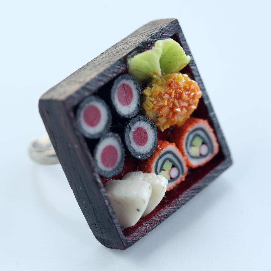 Dollhouse sushi ring - Amy Jewelry  - 1