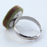 Small felt circle ring - Amy Jewelry  - 2