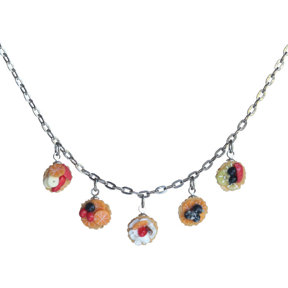 Fruit tart five-piece necklace - Amy Jewelry