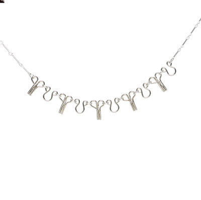 Hook and eye chain necklace - Amy Jewelry