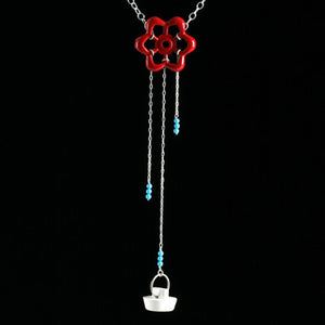 Hose knob necklace - Amy Jewelry