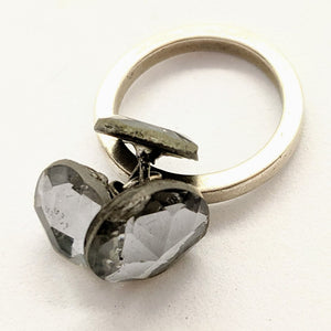 Mirror button ring 2
