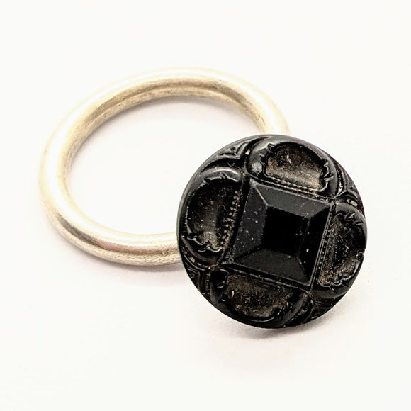 Mourning button ring 2