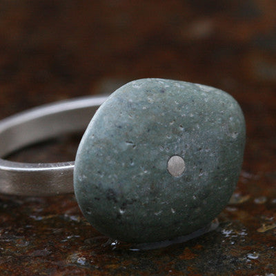 River rock ring - Amy Jewelry