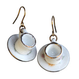 Tea cup earrings - Amy Jewelry  - 2