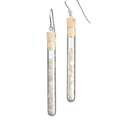 Test tube earrings - Amy Jewelry  - 5