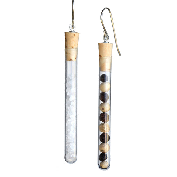 Test tube earrings - Amy Jewelry  - 3