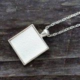 Photo of silver-plated upholstery pendant