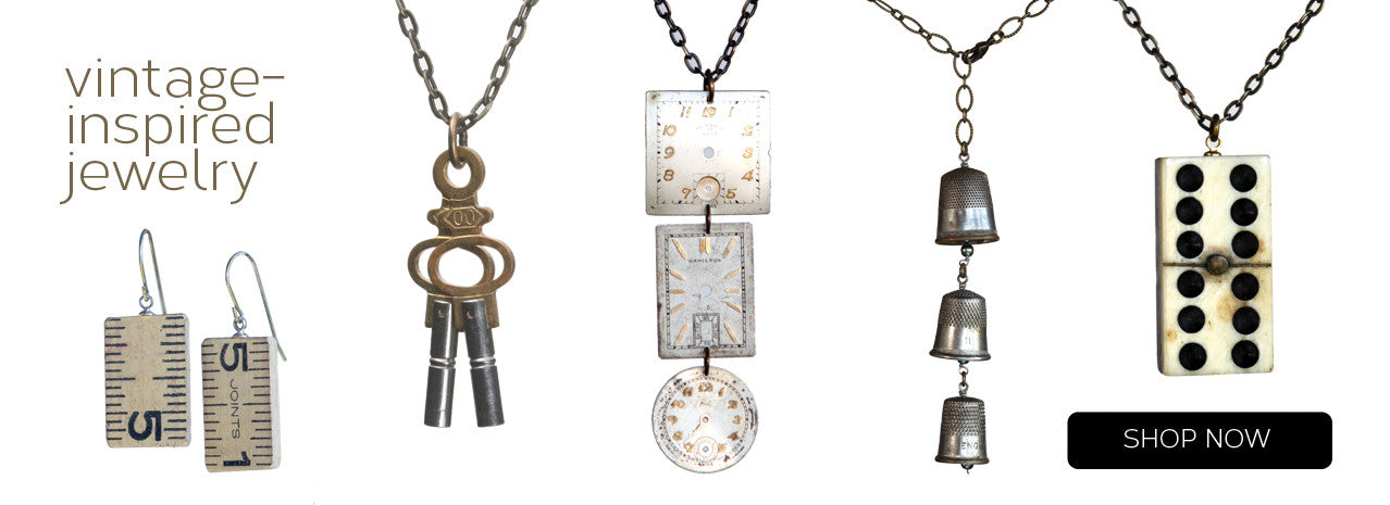 image of vintage-inspired jewelry on amyjewelry.com