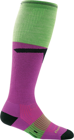 Darn Tough Edge Over the Calf Light Cushion Sock - Women's Clover Small