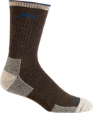 Darn Tough Vermont Merino Wool Micro Crew Cushion Sock, Chocolate
