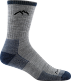 Darn Tough Hiker Micro Crew Cushion Socks - Men's Light Gray