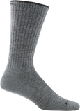 Darn Tough Standard Issue Mid Calf Light Cushion Sock - Men's Medium Gray