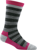 Darn Tough Good Witch Light Sock - Women's Gertrude Gray Small