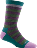 Darn Tough Good Witch Light Sock - Women's Poppy Plum Small