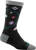 Darn Tough Garden Crew Light Socks - Women's Charcoal Small