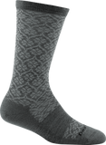 Darn Tough Trellis Light Cushion Socks - Women's Medium Gray Small